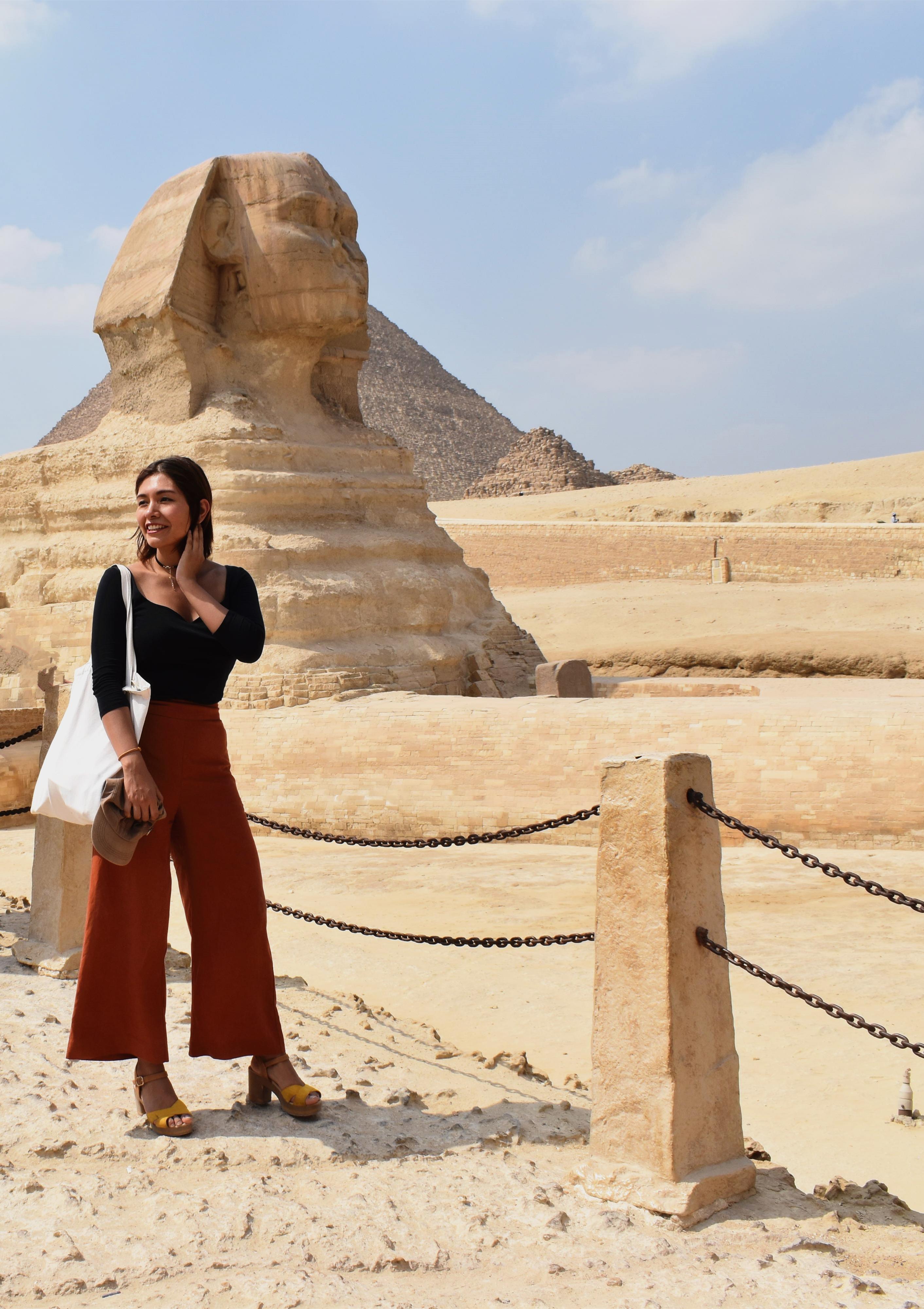 Me roaming around Egypt